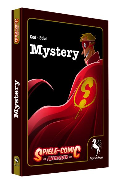 Spiele-Comic Abenteuer: Mystery (Hardcover)