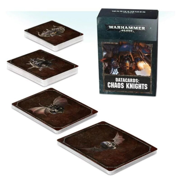 DATACARDS: CHAOS KNIGHTS (ENG) (43-05-60)