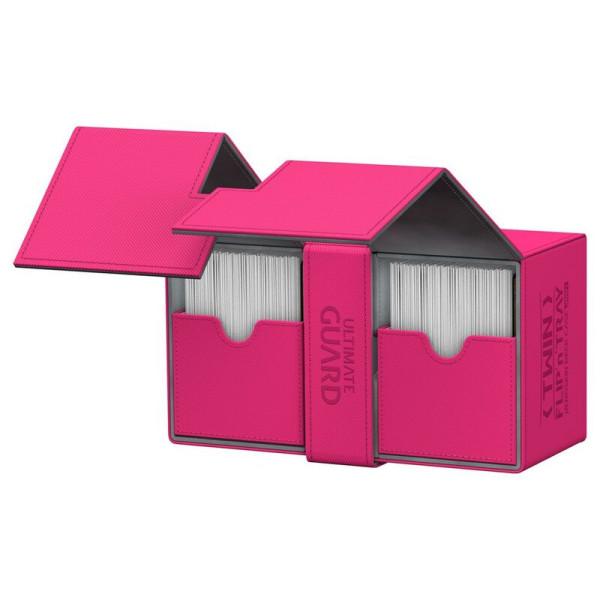 Twin Flip´n´Tray Deck Case 200+ Standard Size XenoSkin™ Pink