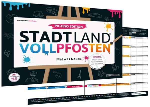 STADT LAND VOLLPFOSTEN PICASSO EDITION (DinA3-Format)