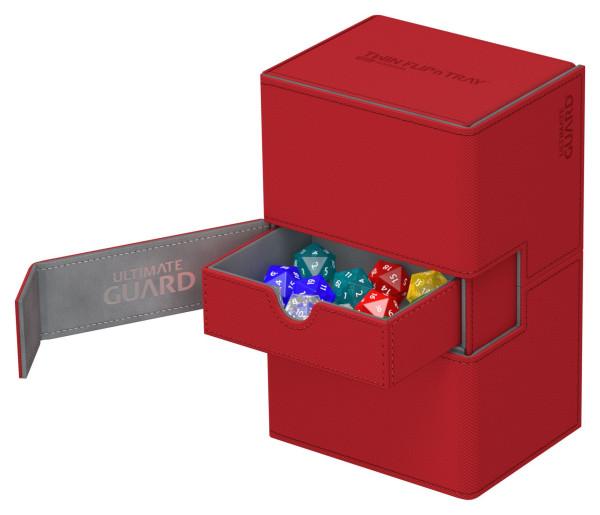 Twin Flip´n´Tray Deck Case 160+ Standard Size XenoSkin Red