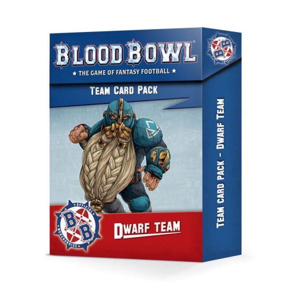 BLOOD BOWL: DWARF TEAM CARD PACK (200-45)