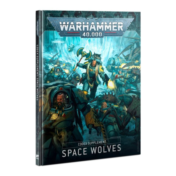 CODEX: SPACE WOLVES (HB) (ENG) (53-01)