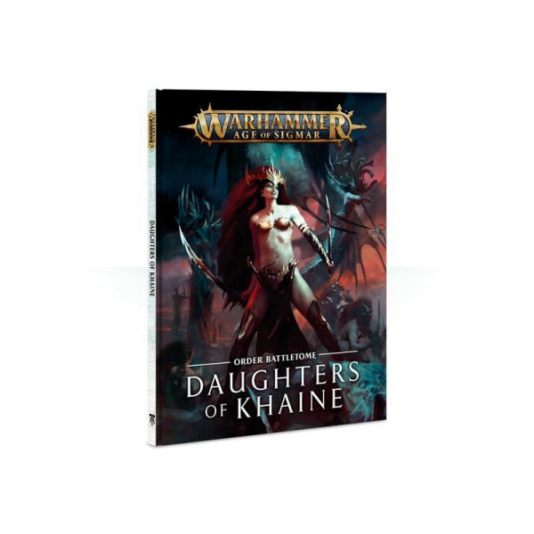BATTLETOME: DAUGHTERS OF KHAINE (HB) ENG (85-05-60)