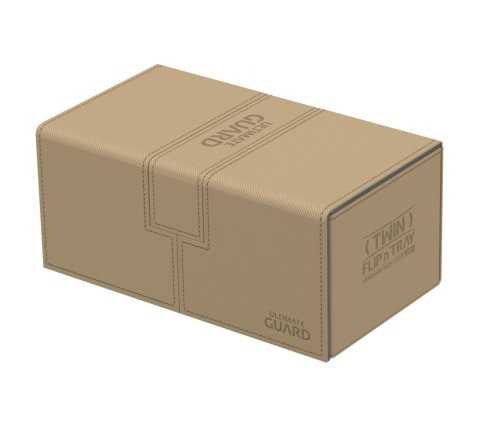 Twin Flip´n´Tray Deck Case 200+ Standard Size XenoSkin™ Sand