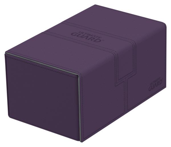 Twin Flip´n´Tray Deck Case 160+ Standard Size XenoSkin™ Purple