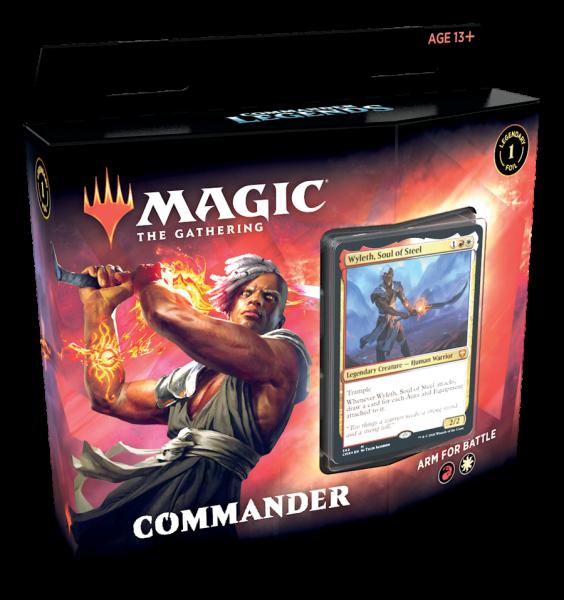 Commander Legends - Commander-Deck: Arm for Battle (ENG)