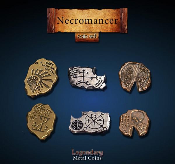 Necromancer Coin Set (24 Stück)