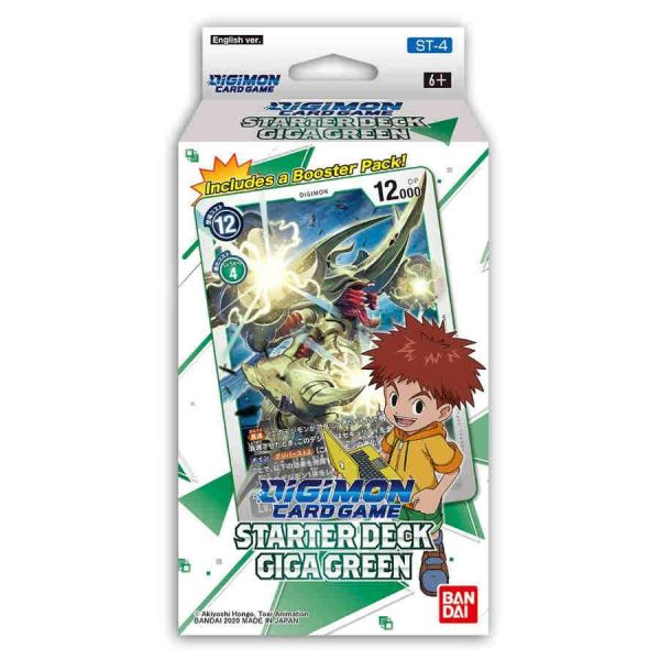 BANDAI Digimon Card Game: Starter Deck Giga Green (ENG) 208