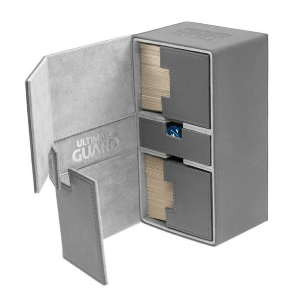 Twin Flip´n´Tray Deck Case 200+ Standard Size XenoSkin™ Grey