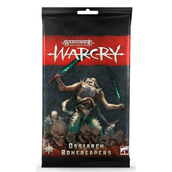 WARCRY: OSSIARCH BONEREAPERS CARD PACK (111-43)