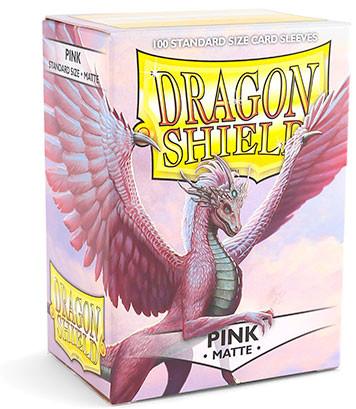 Dragon Shield: Matte Pink (100)