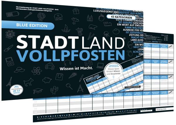 STADT LAND VOLLPFOSTEN [Erweiterung] BLUE EDITION (DinA3-Format)