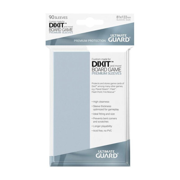 Premium Sleeves for Board Game Cards Dixit™ (90)