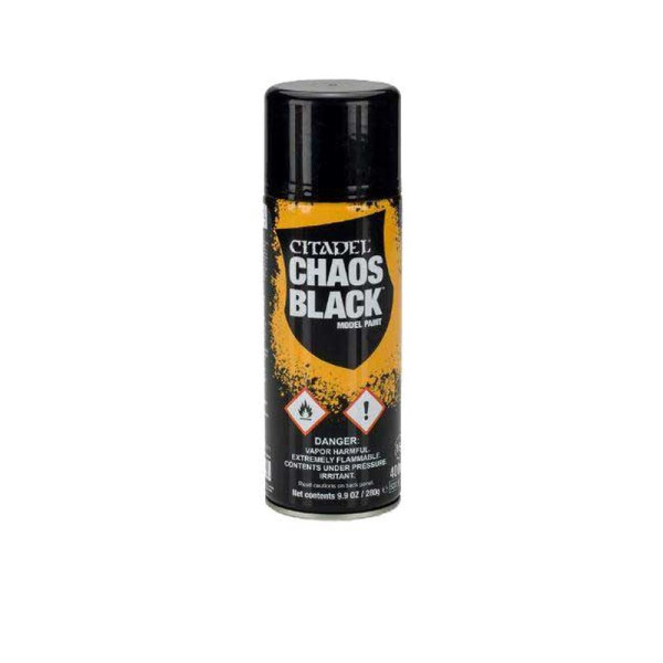 CHAOS BLACK SPRAY (GLOBAL) (62-02)