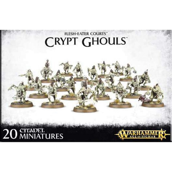 FLESH-EATER COURTS CRYPT GHOULS (91-12)