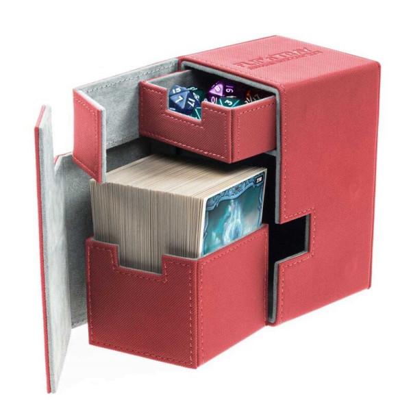 Flip´n´Tray Deck Case 100+ Standard Size XenoSkin™ Red