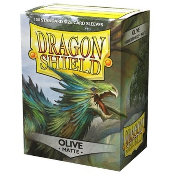 Dragon Shield: Matte Olive (100)