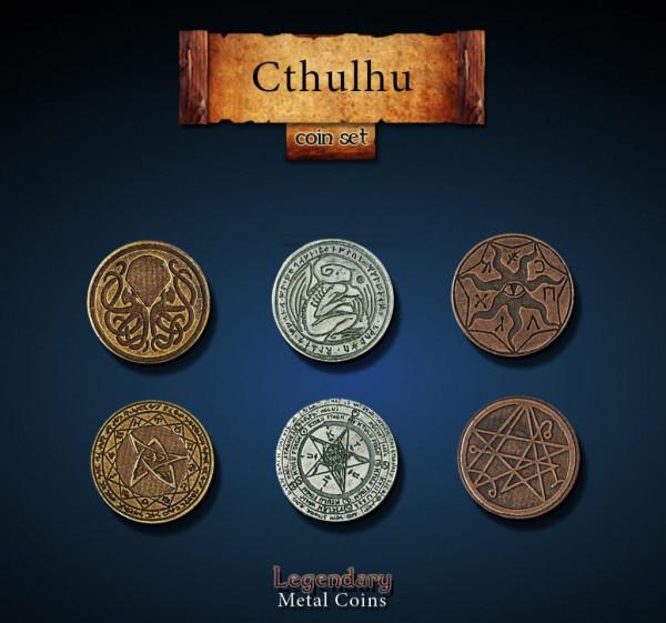 Cthulhu Coin Set (24 Stück)