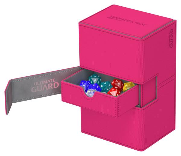 Twin Flip´n´Tray Deck Case 160+ Standard Size XenoSkin™ Pink