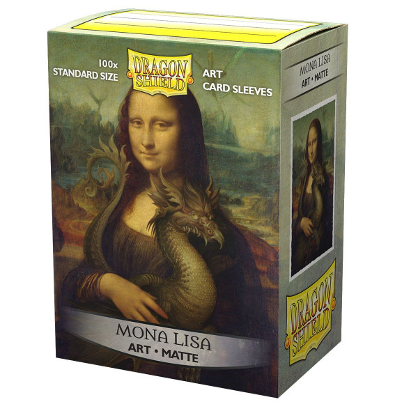 "Dragon Shield: ART Sleeves Matte Classic ""Mona Lisa"""
