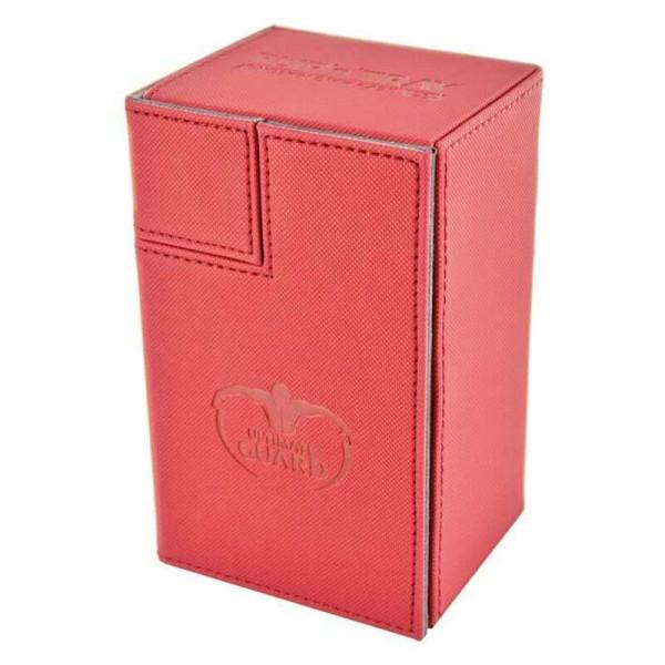 Flip´n´Tray Deck Case 80+ Standard Size XenoSkin™ Red