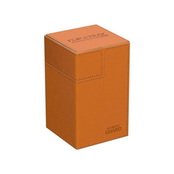 Flip´n´Tray Deck Case 100+ Standard Size XenoSkin™ Orange