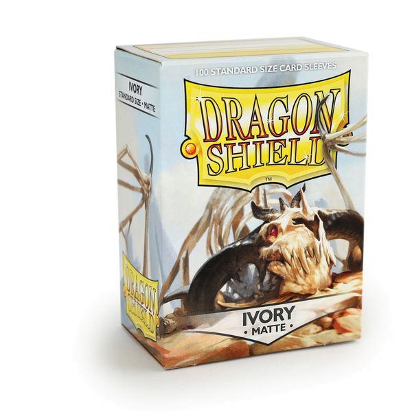 Dragon Shield: Matte Ivory (100)