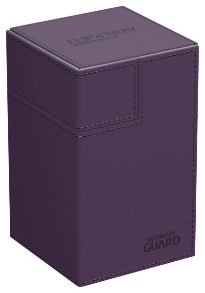 Flip´n´Tray Deck Case 100+ Standard Size XenoSkin™ Purple