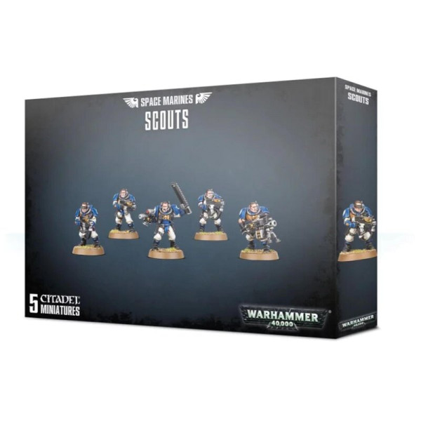 SPACE MARINES SCOUTS (48-16)
