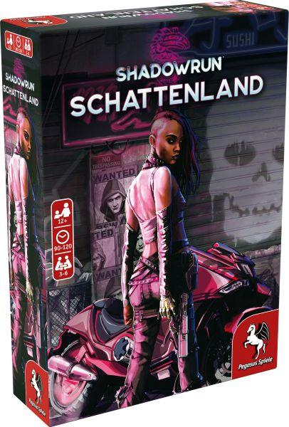 Schattenland (Shadowrun Brettspiel)