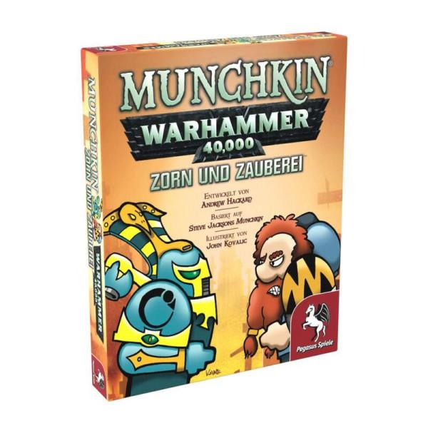 Munchkin Warhammer 40.000: Zorn und Zauberei
