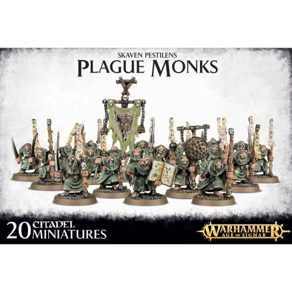 SKAVEN PESTILENS PLAGUE MONKS (90-12)
