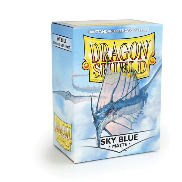 Dragon Shield: Matte Sky Blue (100)