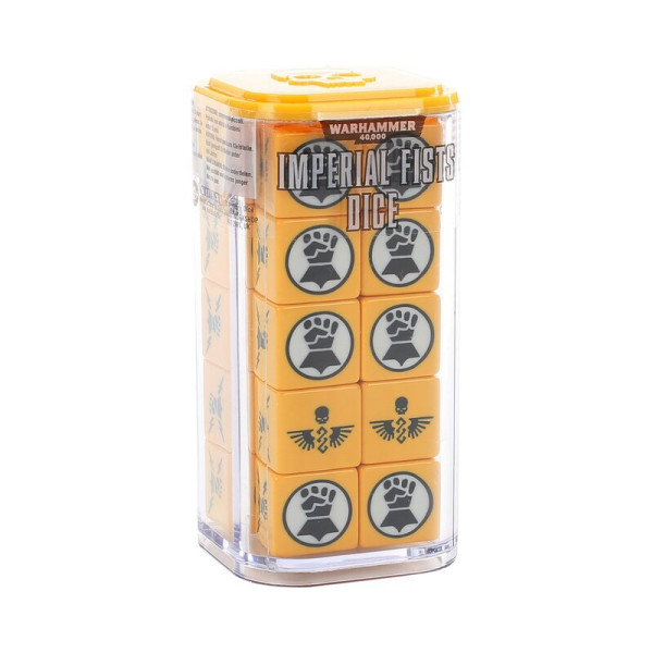 IMPERIAL FISTS DICE SET (86-88)