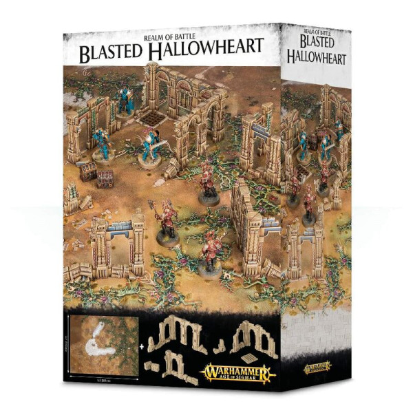 REALM OF BATTLE: BLASTED HALLOWHEART (64-66)