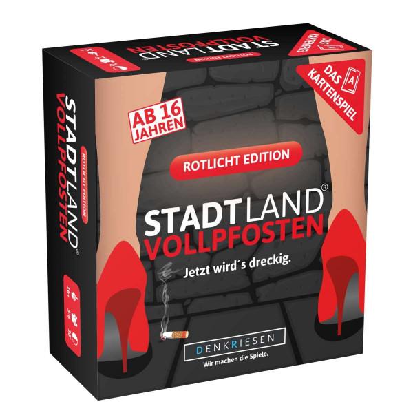 STADT LAND VOLLPFOSTEN: Das Kartenspiel - Rotlicht Edition