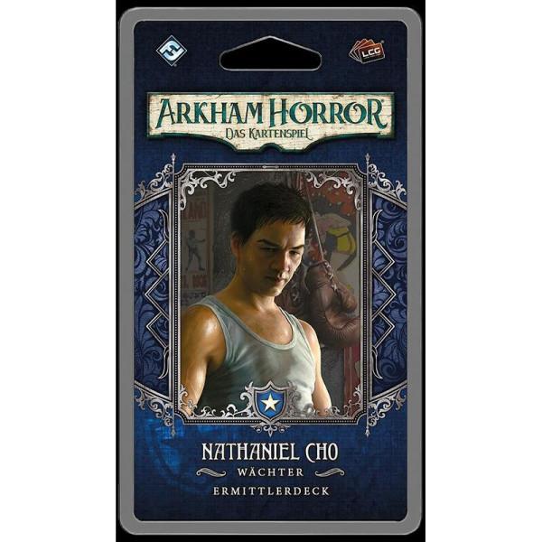 Arkham Horror: LCG - Nathaniel Cho Ermittlerdeck