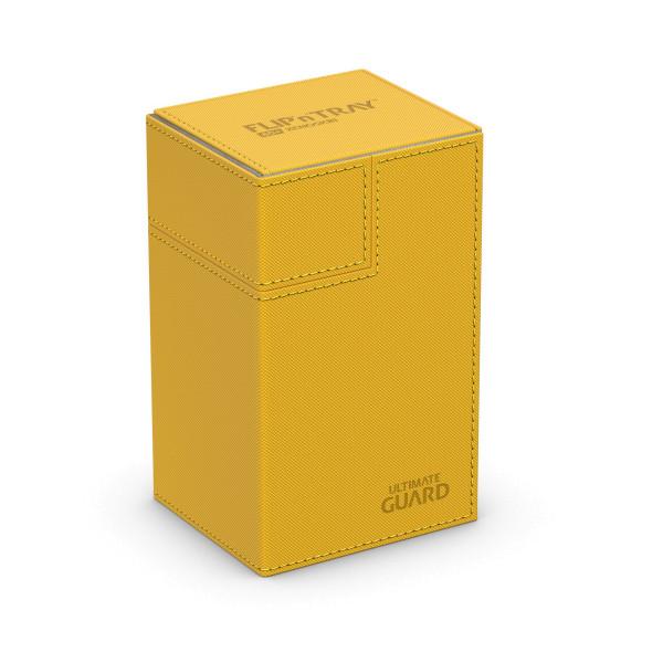 Flip´n´Tray Deck Case 80+ Standard Size XenoSkin™ Amber