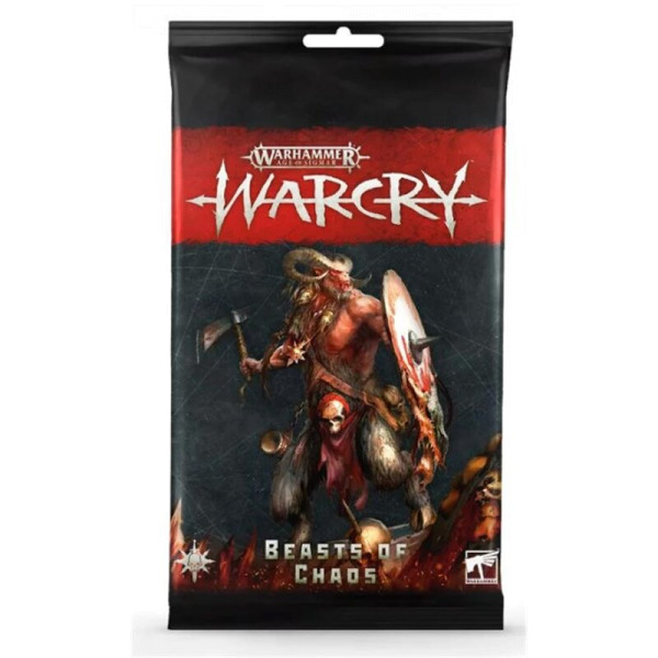 WARCRY: BEASTS OF CHAOS CARD PACK (111-50)