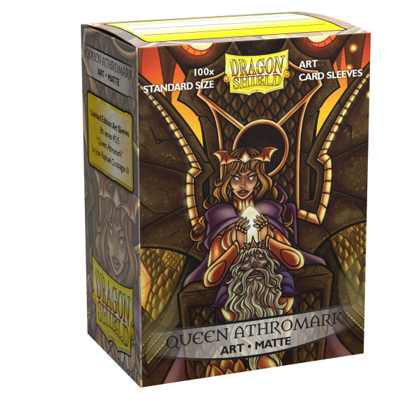 Dragon Shield: ART Sleeves Matte Classic Queen Athromark: Portrait (100)