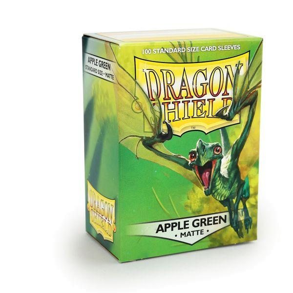 Dragon Shield: Matte Apple Green (100)