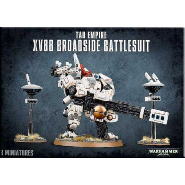 TAU EMPIRE XV88 BROADSIDE BATTLESUIT (56-15)