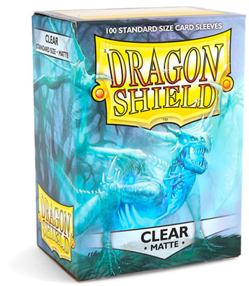 Dragon Shield: Matte Clear (100)