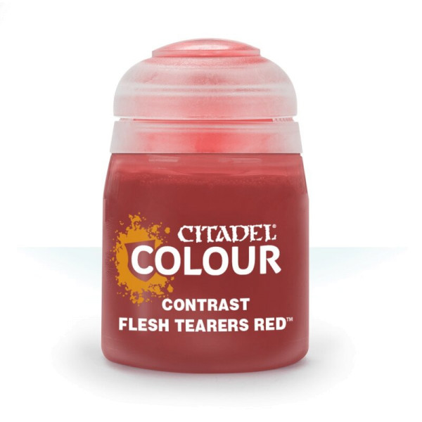 CONTRAST: FLESH TEARERS RED (18ML) (29-13)