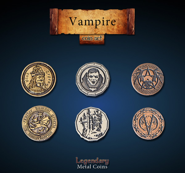 Vampire Coin Set (24 Stück)
