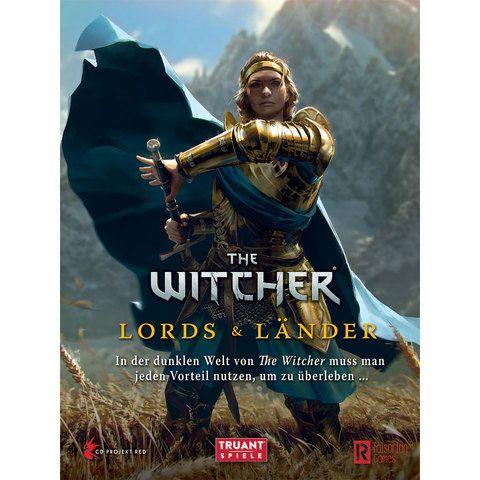 The Witcher – Lords & Länder mit Spielleiterschirm