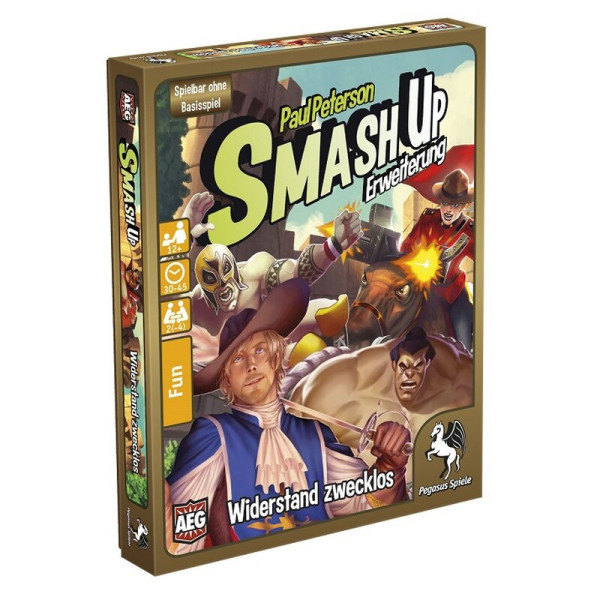 Smash Up: Widerstand zwecklos