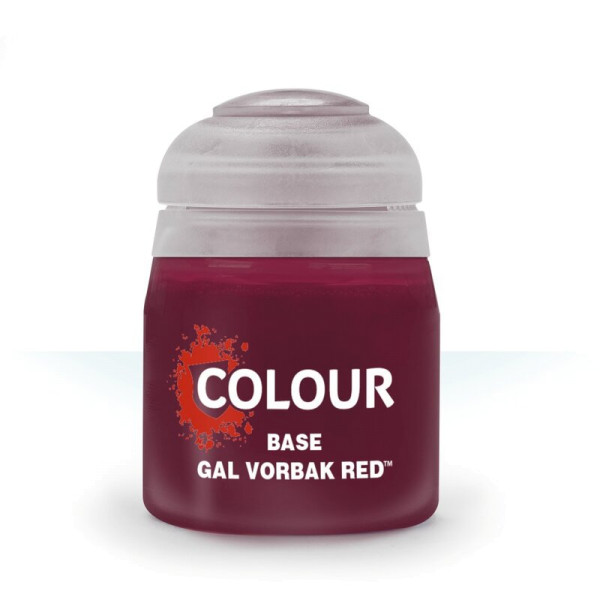BASE: GAL VORBAK RED (12ML) (21-41)