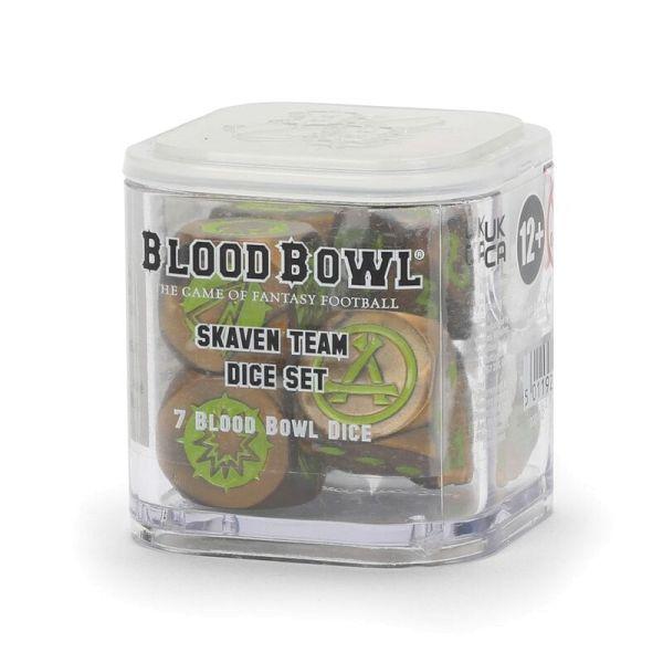 BLOOD BOWL: SKAVEN TEAM DICE SET (200-12)
